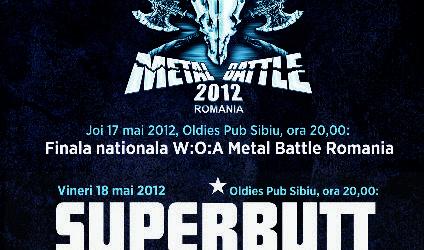 Concert SUPERBUTT la Sibiu