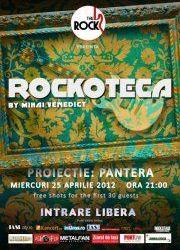 Proiectie PANTERA la rockoteca din The Rock Iasi