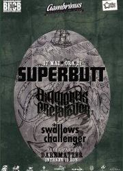 Concert SUPERBUTT, DIAMONDS ARE FOREVER si SKY SWALLOWS CHALLENGER in Cluj
