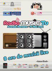 Radio Music TV transmite muzica romaneasca din Arene in audiovizual