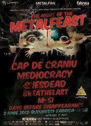 O trupa surpriza se adauga celor sase de pe afisul Metalfeast din Fabrica