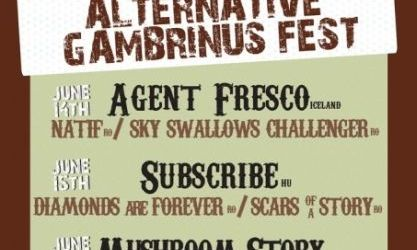 Alternative Gambrinus Fest in Gambrinus Pub din Cluj-Napoca