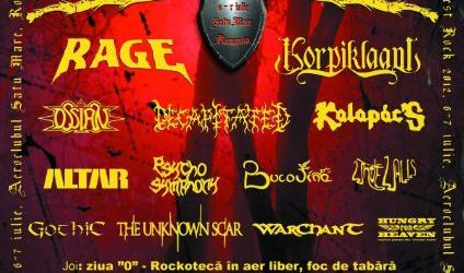 Festivalul International Samfest Rock, a opta editie la Satu Mare