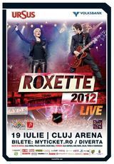 Concert Roxette joi la Cluj