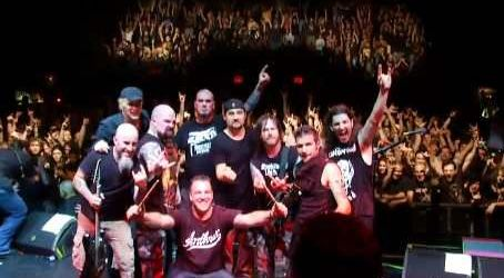 Dave Lombardo vs Charlie Benante la Metal Masters 4  (video)