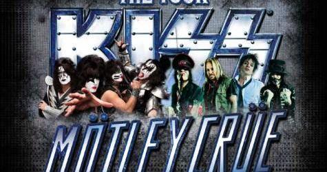 Filmari din ultimul concert al turneului Kiss/Motley Crue