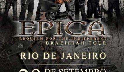 Filmari cu Epica in Brazilia