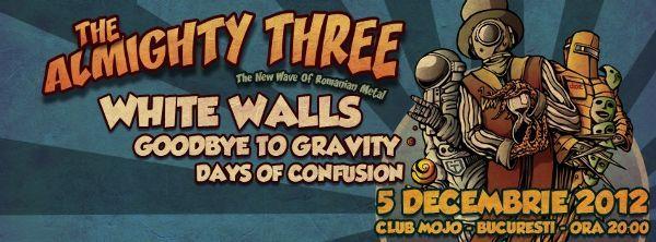 Days Of Confusion te invita la concertul The Almighty Three (video)