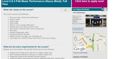 Un colegiu din Anglia ofera cursuri specializate de heavy metal