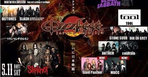 Slipknot: Filmari de la Ozzfest 2013 in Japonia