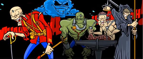 Eddie de la Iron Maiden ne ureaza Craciun Fericit