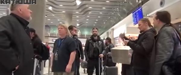 A aparut intregul clip cu momentul in care Belphegor si Nile au fost atacati in aeroport