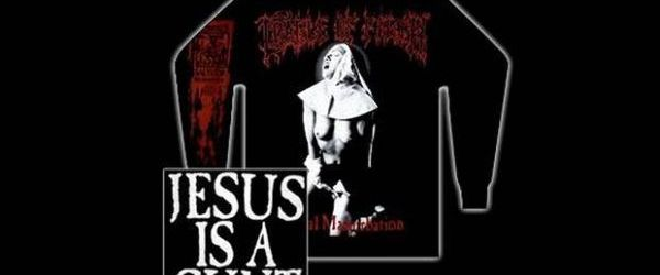Cradle Of Filth au lansat din nou controversatul tricou 'Jesus Is A c**t'