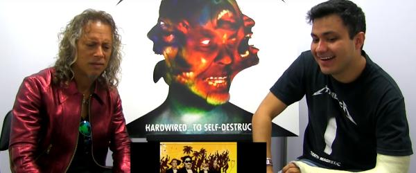 Viralul zilei: Kirk Hammett a dat note coverurilor Metallica din Spania