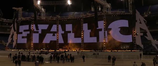 Metallica au transmis live repetitiile concertului din Baltimore