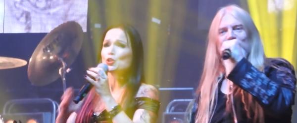 Tarja Turunen a cantat cu Marco Hietala dupa 12 ani - video