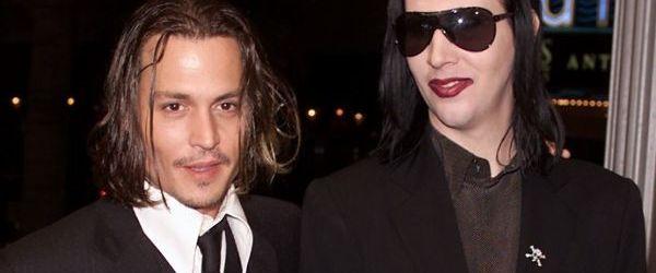 Johnny Depp ar putea face parte din trupa lui Marilyn Manson
