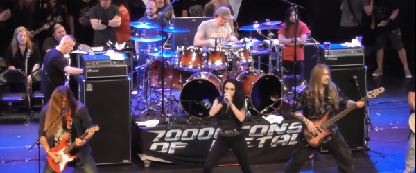 Cinzeci de artisti au facut un All Star Jam la 70000 Tons Of Metal