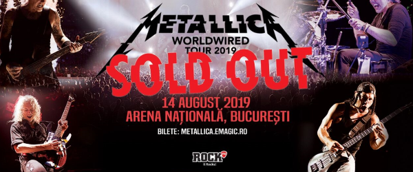 Metallica a spart recorduri la vanzarile de bilete