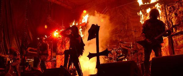 Watain a creat un poster special pentru concertul din Quantic