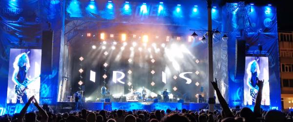 Iris au facut un cover dupa Enter Sandman de la Metallica