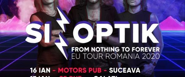 Sinoptik anunta From Nothing to Forever EU Tour Romania