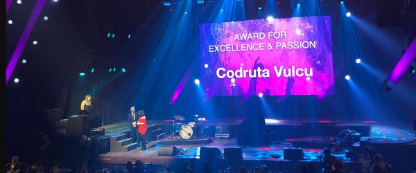 Premiera pentru Romania: o romanca desemnata castigatoarea categoriei 'The Award for Excellence and Passion' de catre European Festival Awards