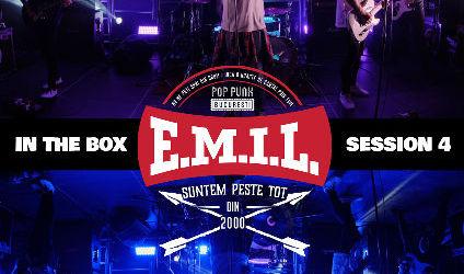 Un nou concert pe platforma Overground Showroom: E.M.I.L. live  In The Box Session 4