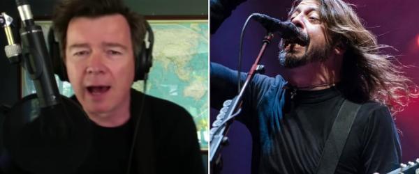 Rick Astley a facut un cover dupa Foo Fighters