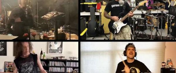 Membrii trupei Anthrax au interpretat piesa 'I Don't Care About You' in carantina