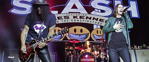 Slash va scoate un nou album alaturi de Myles Kennedy and The Conspirators