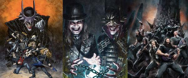 Megadeth, Sepultura, Ozzy, si nu numai, devin eroi DC Comics