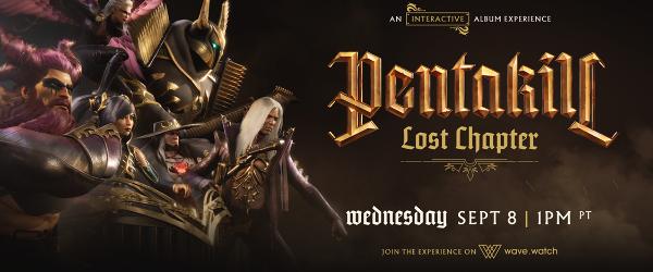 Astazi se lanseaza noul album Pentakill: Lost Chapter